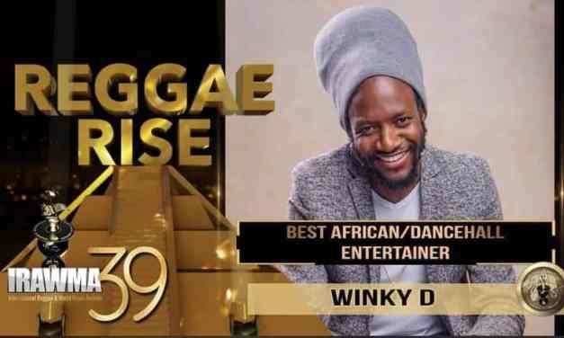 Winky D bags Best African Dancehall Entertainer award at IRAWMA