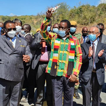 …PICTURES…President Mnangagwa commissions North-South Corridor