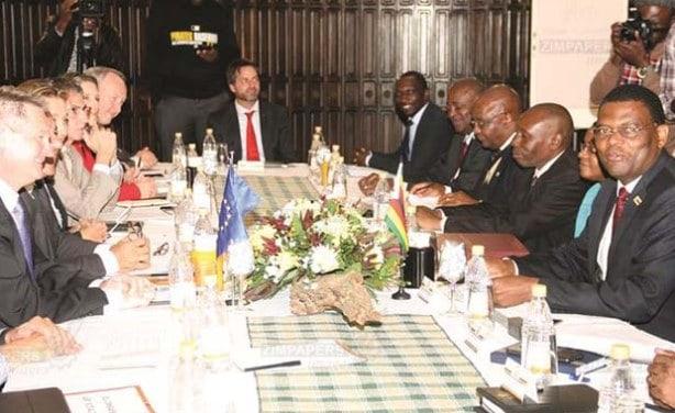 Zimbabwe-EU holds Political dialogue