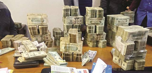 Robbers get away with US$70 000, US$19 300 and US$22 000 in one day