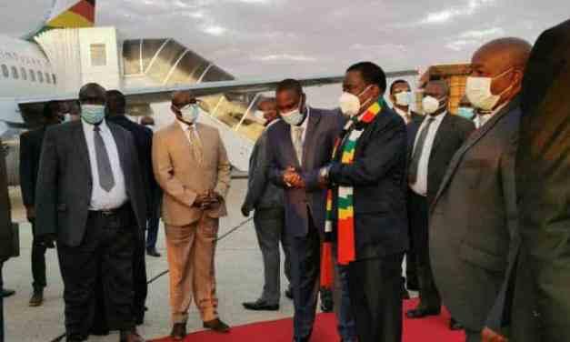 President Mnangagwa leaves for Mozambique