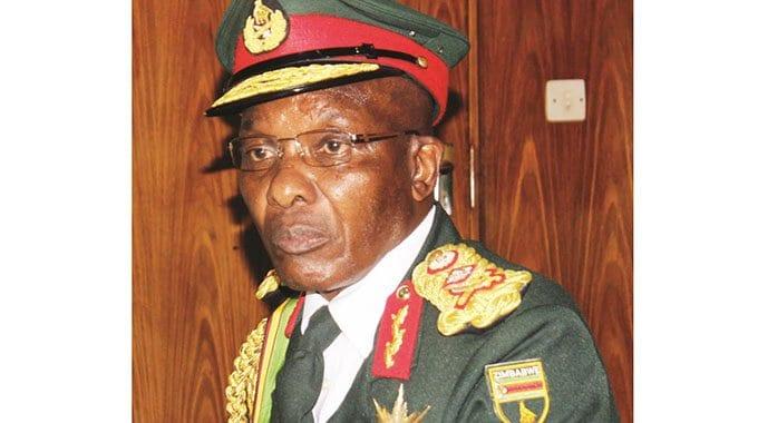 BREAKING NEWS: ZNA Commander Edzai Chimonyo dies