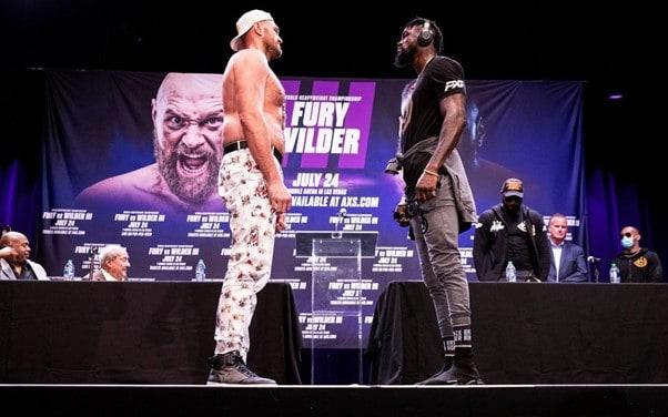 Tyson Fury vs Deontay Wilder Postponed Due to COVID-19