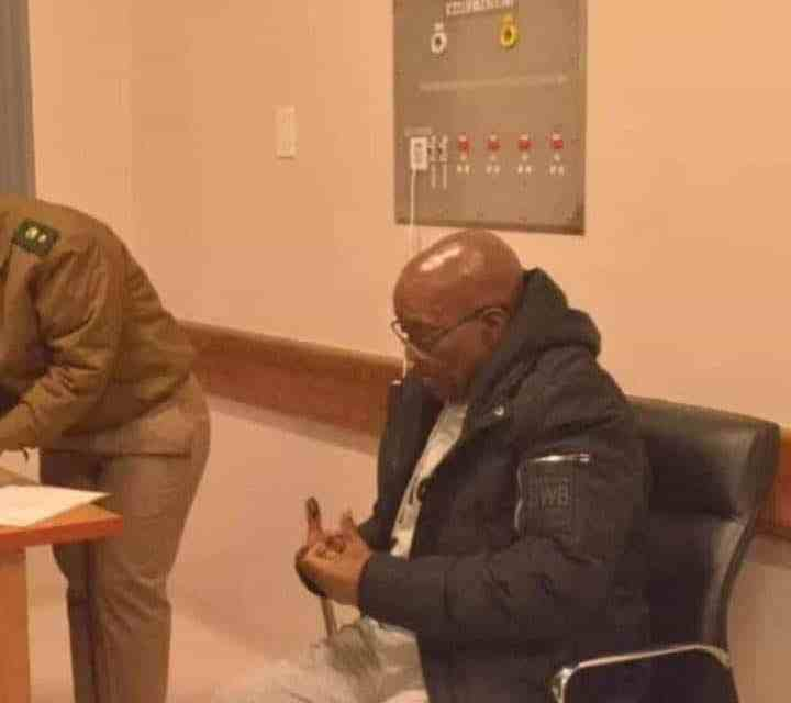 LEAKED pictures of Jacob Zuma in prison go viral