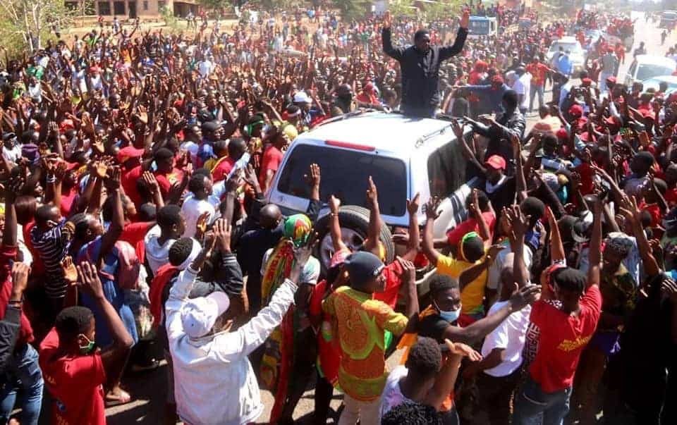 Zambia's main opposition leader blocked from entering Copperbelt, as country goes to polls tomorrow