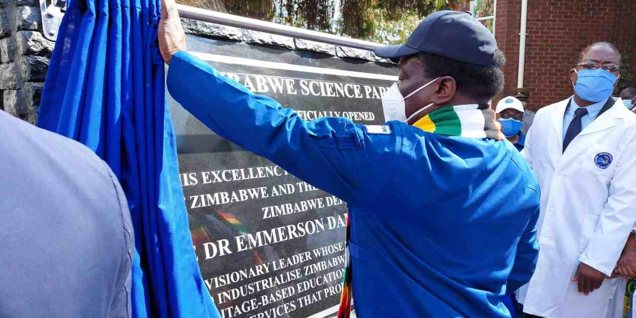 PICTURES: President Mnangagwa launches Zim Science Park, Zim Space Agency at UZ