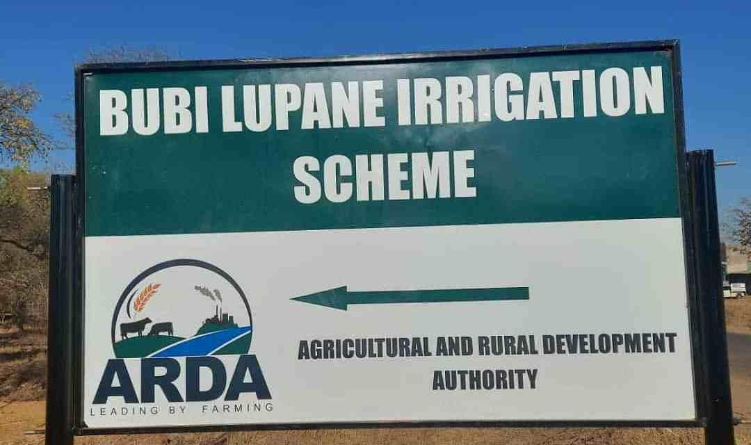 President Mnangagwa to launch Bubi-Lupane irrigation scheme today