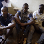 PICTURES: Police ambush, nab 3 notorious armed robbers from South Africa, recover weapons