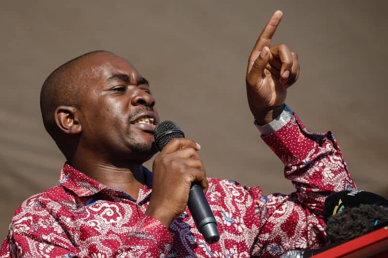 You are not God to rule forever- Chamisa tells Mnangagwa
