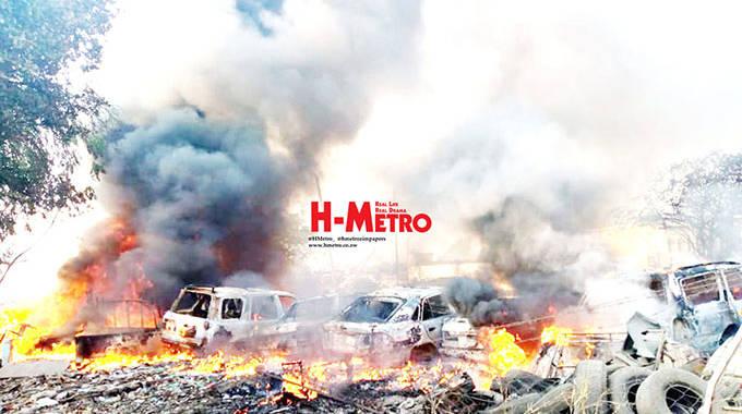 Homeless Harare man sets cars on fire in Gazaland-Highfield