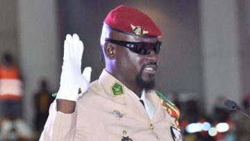 Coup leader Col Mamady Doumbouya sworn in as Guinea's President