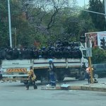 Police maintain heavy presence in Harare CBD after arresting, detaining 40 war veterans
