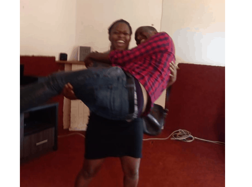 Married church elder falls into the arms of single nurse after wife moves to diaspora..PICTURES