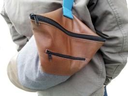 Tube Bag Upcycling-Leder