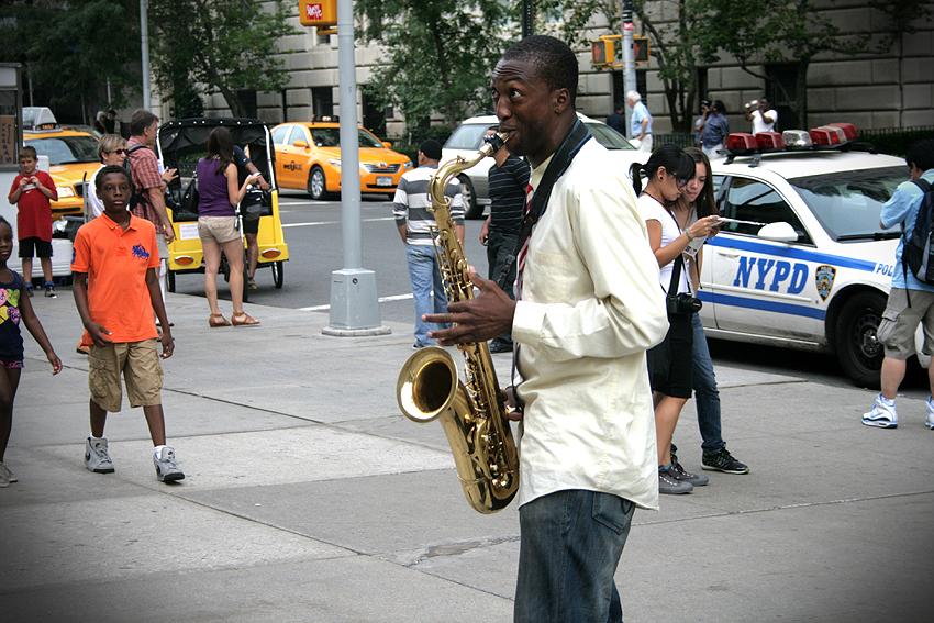 saksofon_nowy jork
