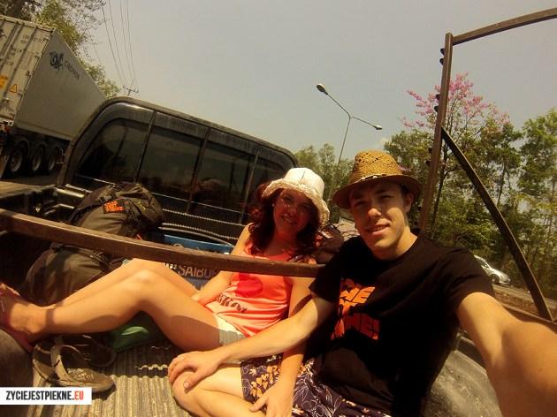 Autostop wTajlandii