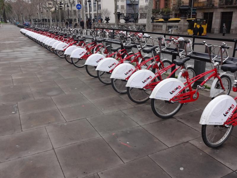 Barcelona wypożyczalnia rowerów