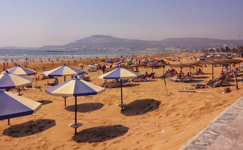 Plaża w Agadirze
