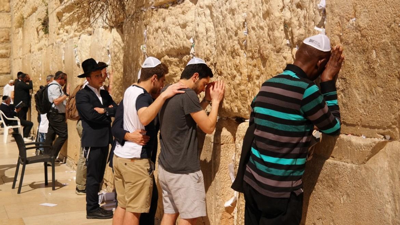 Ściana płaczu Jerozolima Izrael