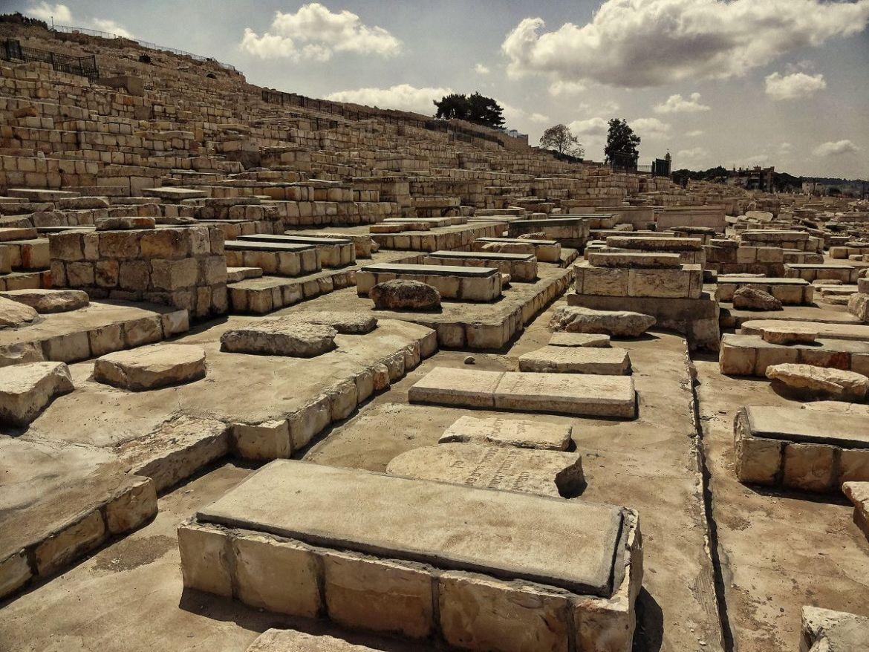 Cmentarz żydowski na Górze Oliwnej