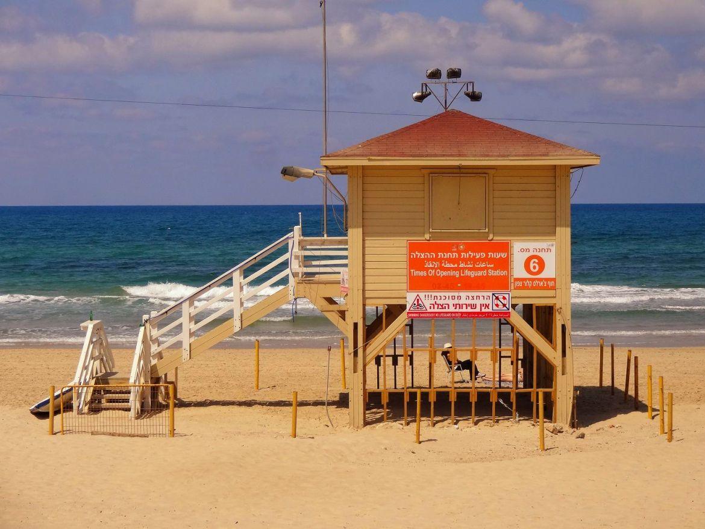 Plaża Tel Awiw Izrael