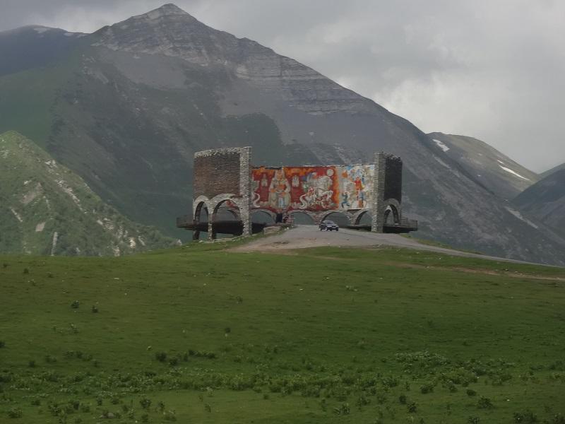 Pomnik przyjaźni gruzińsko- rosyjskiej