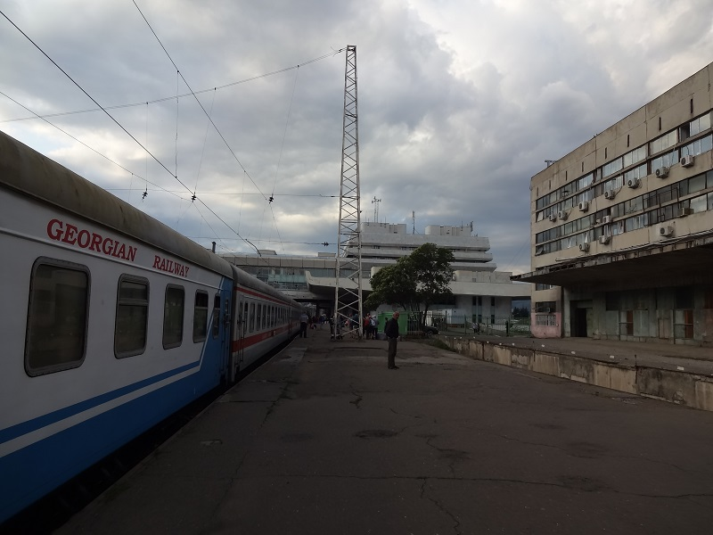 Dworzec kolejowy w Tibilisi