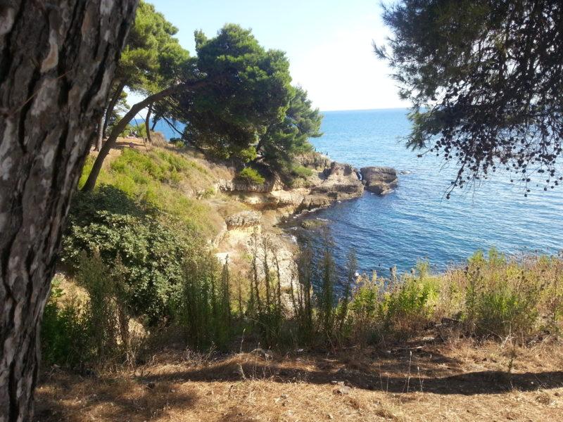 Ulcinj Czarnogóra Skaliste Plaże