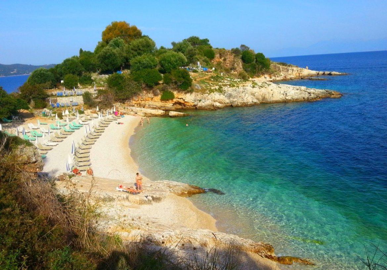 Plaża Bataria w Kasiopi