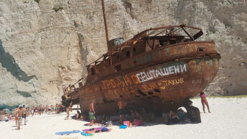 Zatoka wraku / Zakynthos