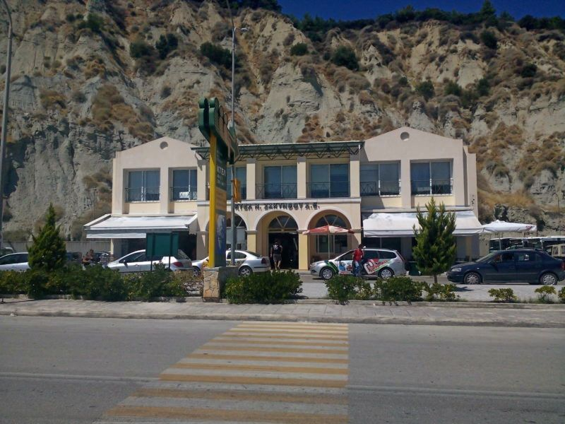 Dworzec autobusowy ΚΤΕΛ w Zate Town