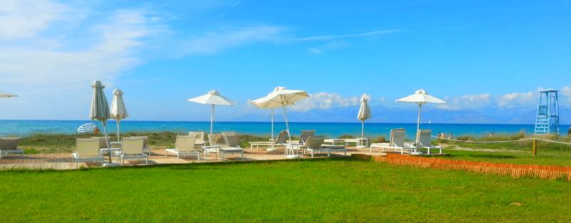 Korfu Acharawi Plaża