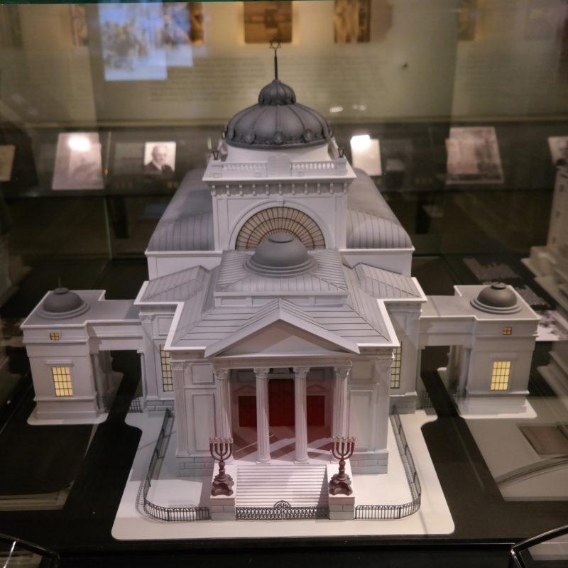 Replika Wielkiej Synagogi, Muzeum Historii Żydów Polskich POLIN