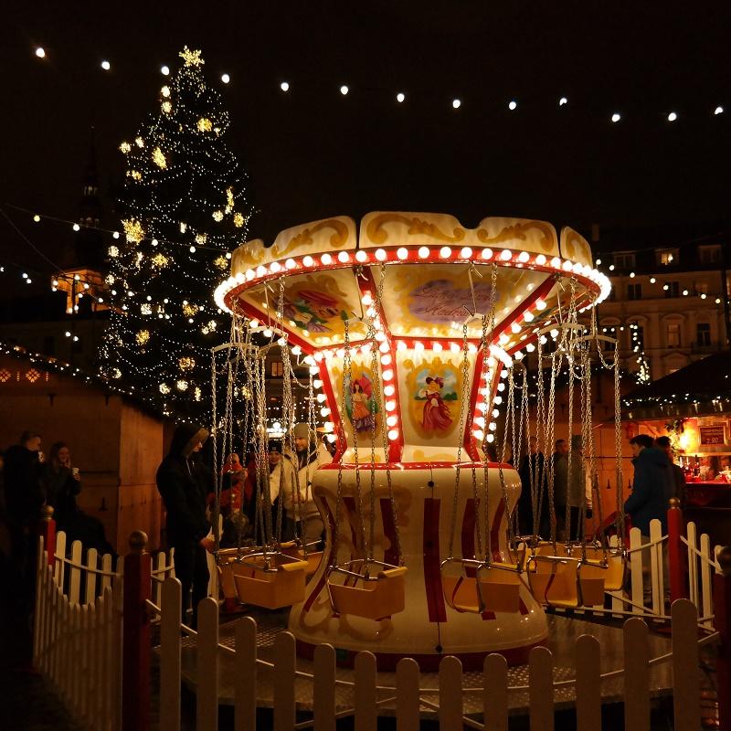 Jarmark bożonarodzeniowy Tallin