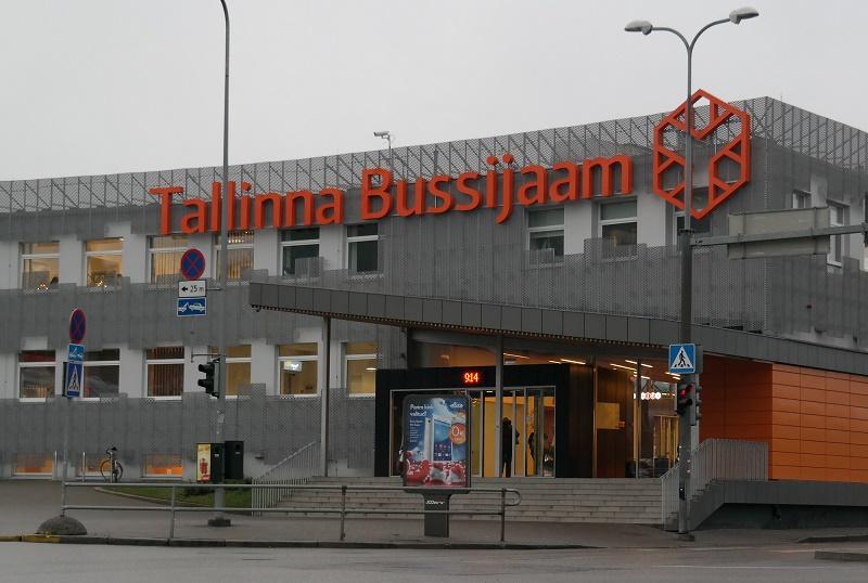 Dworzec autobusowy w Tallinie
