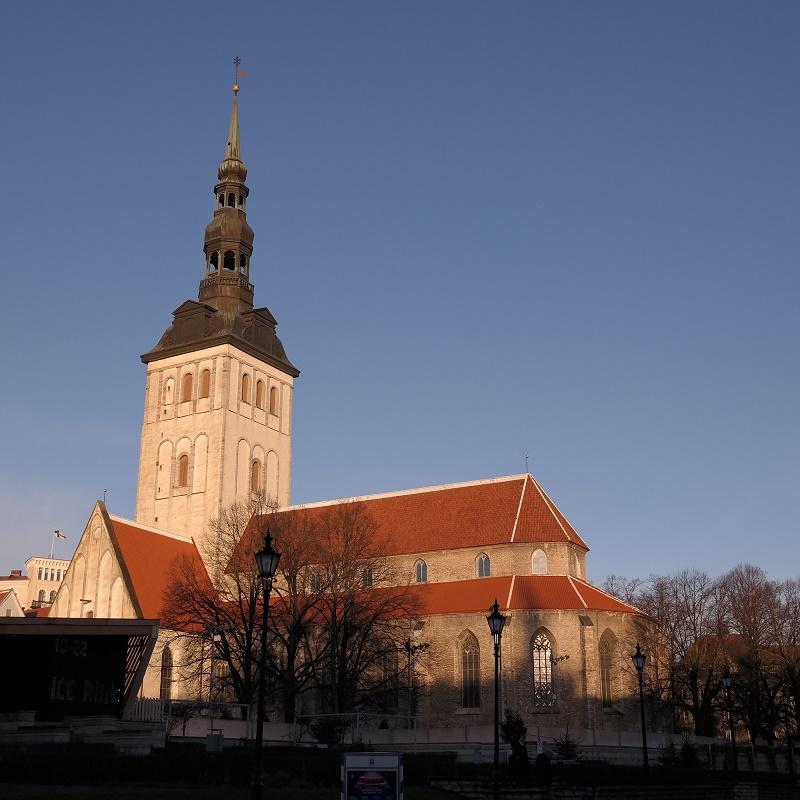 Nigiliste Kościół św. Mikołaja, Tallin