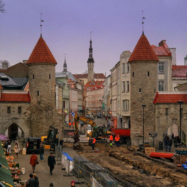 Brama wjazdowa na stare miasto
