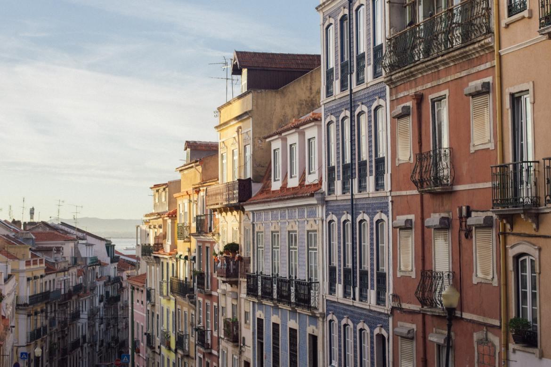 Lizbona kamienice ulice co zwiedzic i zobaczyć w weekend w lizbonie blog