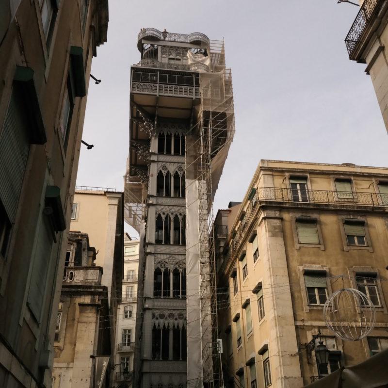 Winda Santa Justa / Lizbona