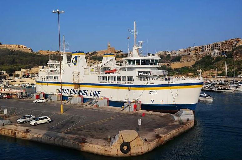 Statek na trasie Malta- Gozo- Malta