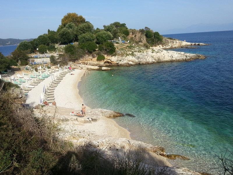 Okolice plaży Bataria Korfu