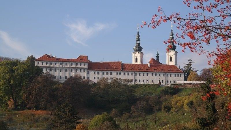 Klasztor na Strahowie, Praga
