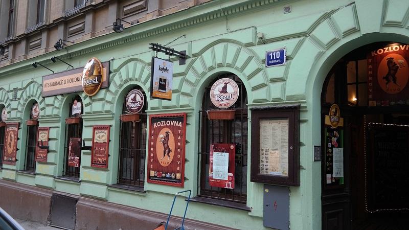 U Houdku restauracja Praga