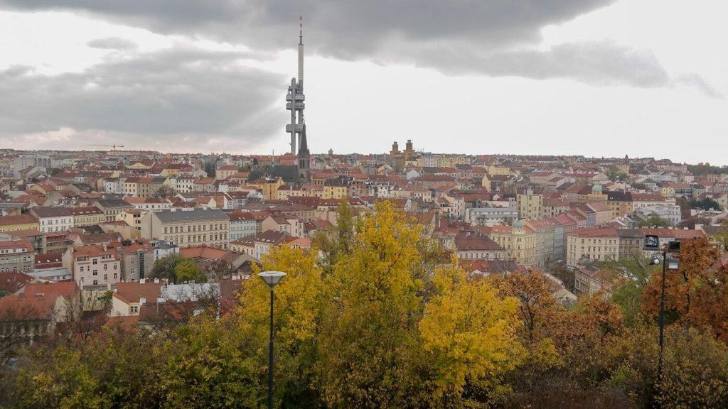 Vitkov Panorama okolica wzniesienie Praga co zwiedzić co zobaczyc weekend w pradze