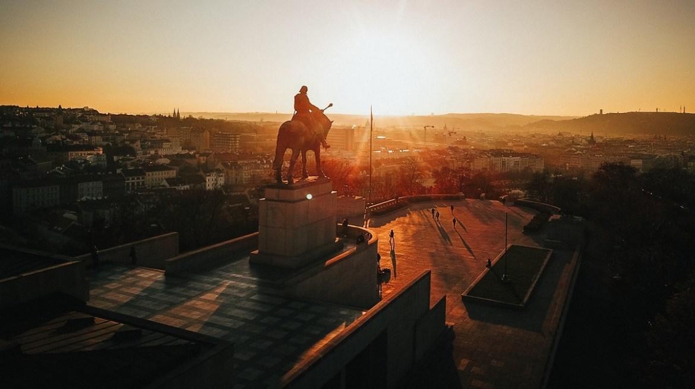Vitkov praga co zwiedzić i zobaczyć w pradze punkty widokowe panorama blog podróżniczy