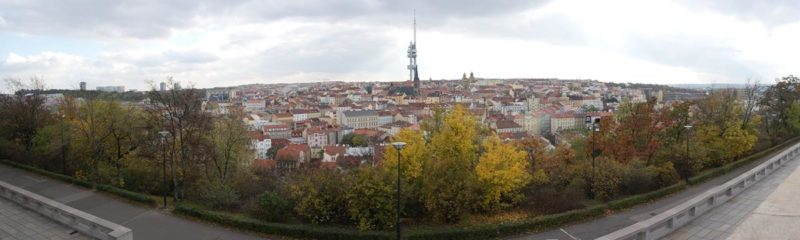 Panorama Vitkov praga