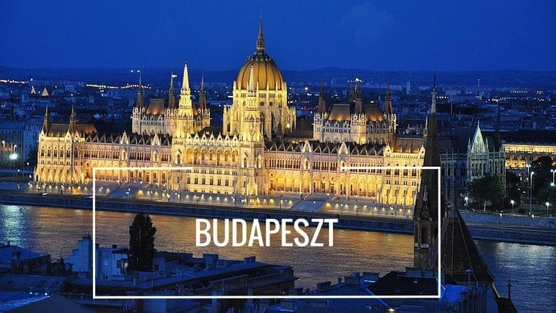 Budapeszt Parlament by night