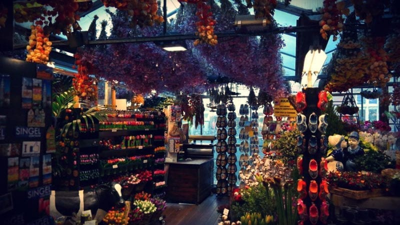 Amsterdam Targ Kwiatowy Flower Market