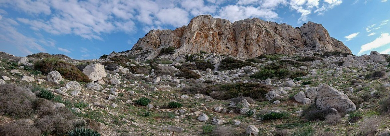Cape Greco Cypr góra góry co zwiedzić na cyprze częć grecka blog