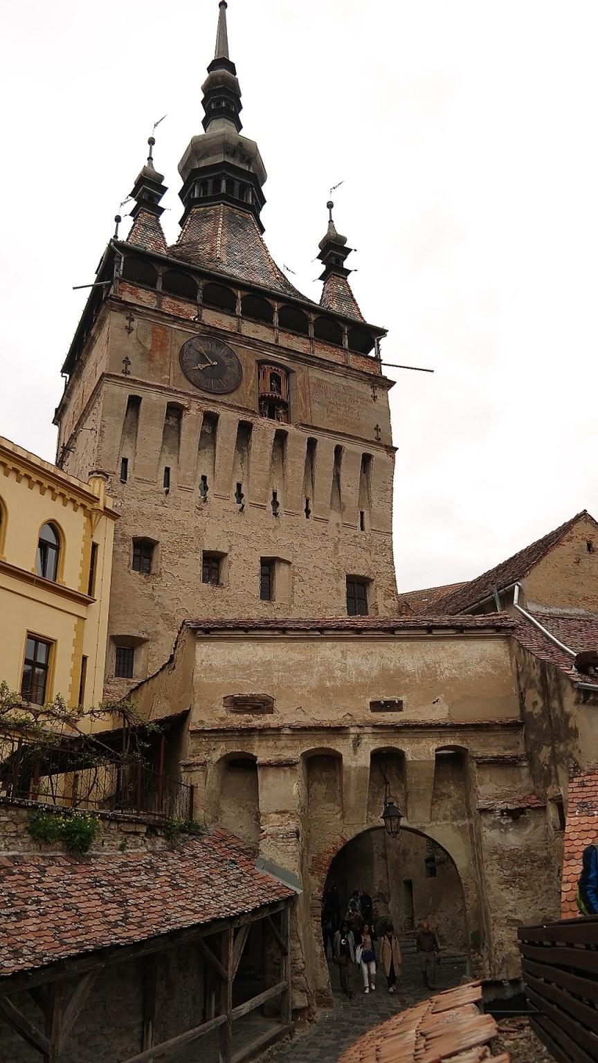 Wieża Zegarowa Sighisoara Rumunia